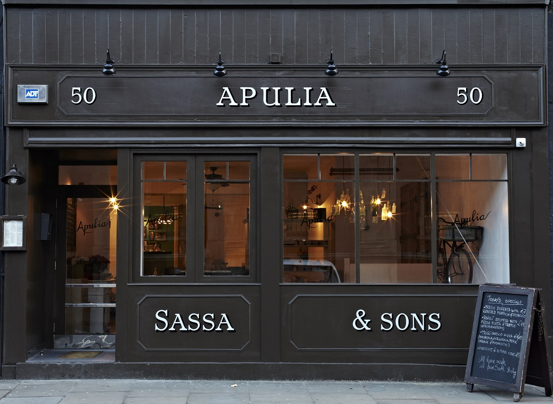 The new Apulia restaurant on Long Lane