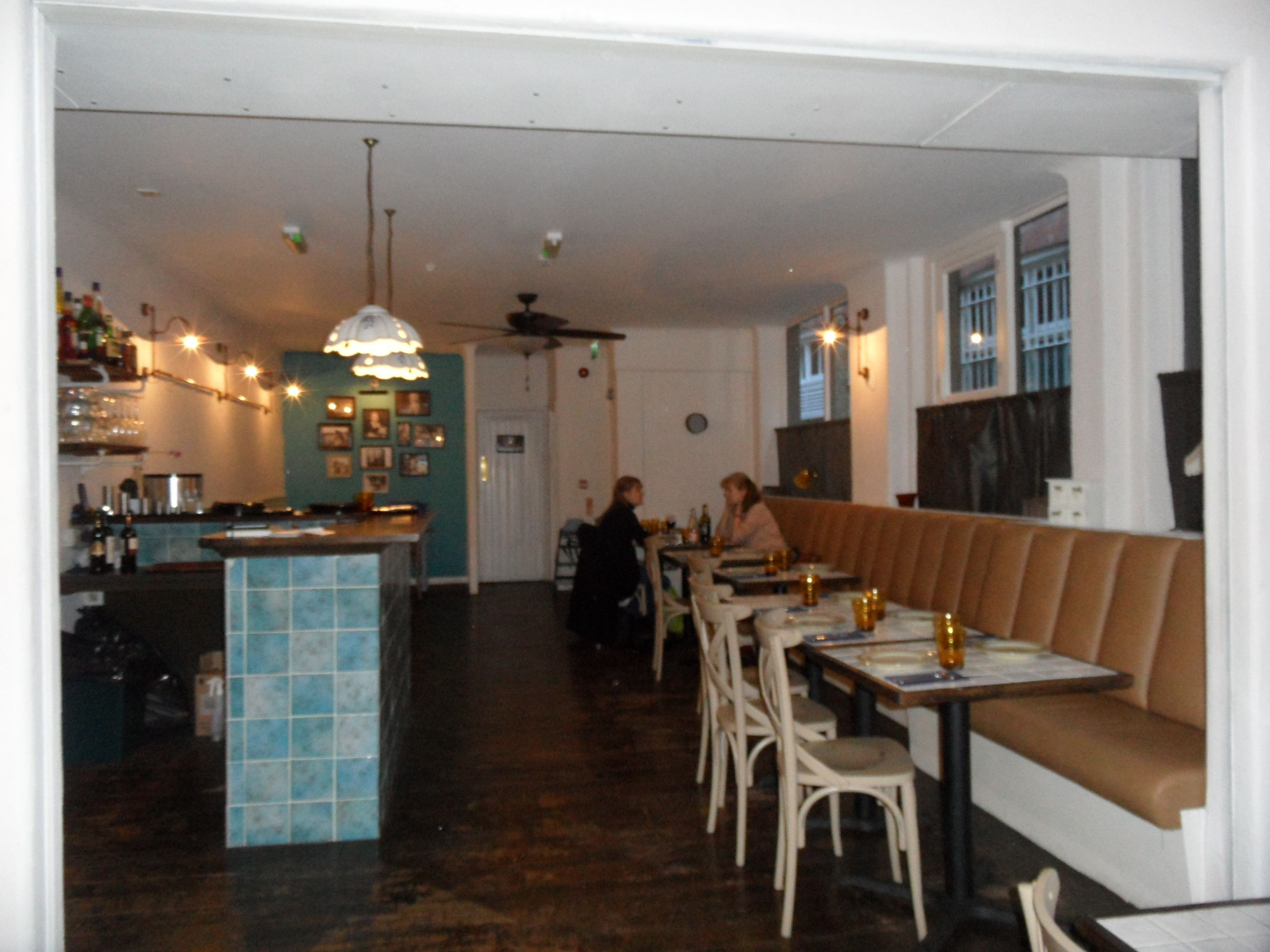 The upstairs restaurant section at Apulia