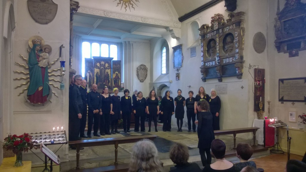 A Singing in the City concert