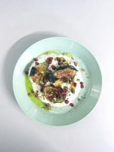 figs, labneh, sumac & pomegranate (£8.00)