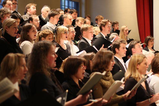 City of London choir in full voice