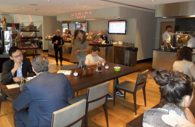 L'Anima Cafe deli section