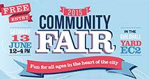 Community Fair 2015 logo