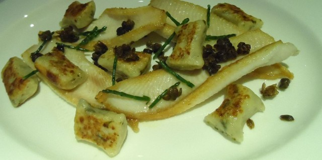 Dover sole - filleted