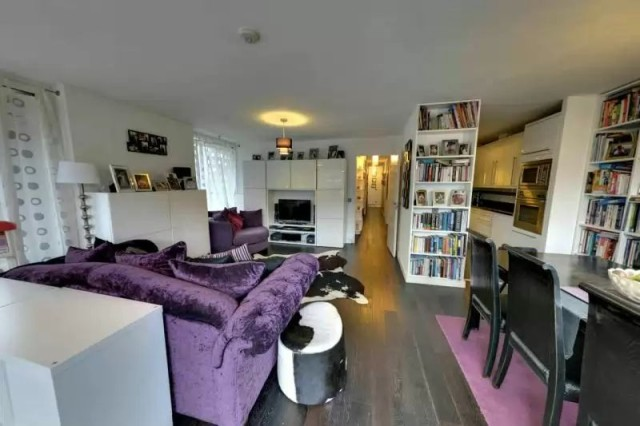 Podium level 3-bed Shakespeare Tower flat on the market with Frank Harris at £1,499,000