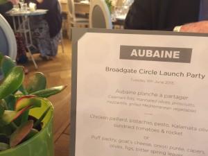 Aubaine at Broadgate Circle
