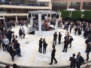 Launch of the new Broadgate Circle