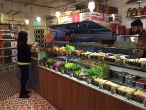 Comptoir Libanais at Broadgate Circle