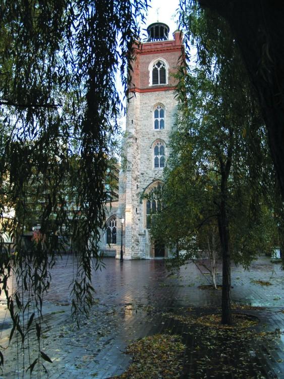St Giles - Autumn after the rain