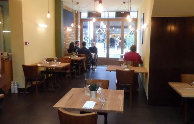 Part of the restaurant interior