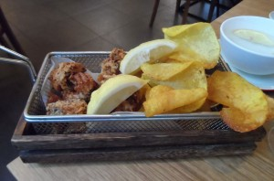 Salt and pepper seafood