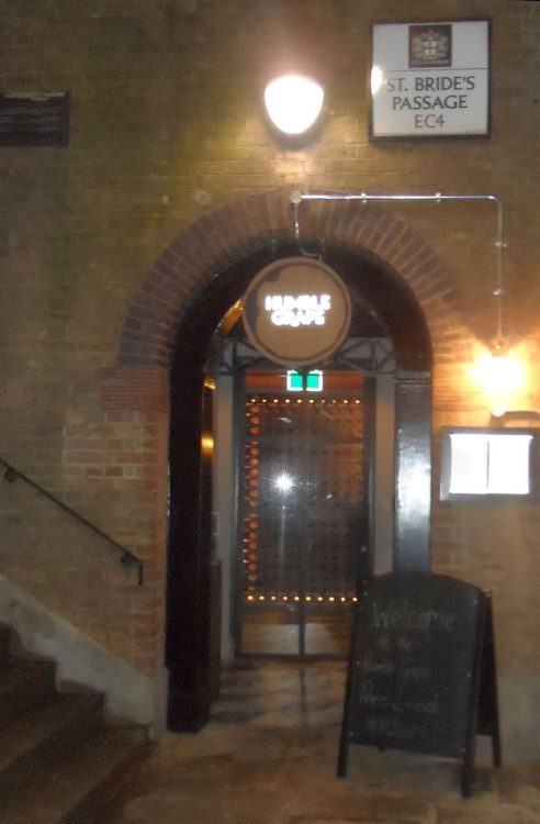 The entrance is tucked away down a small alley, but inside opens out into a spectacular space