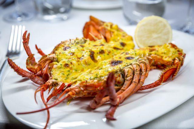 Lobster Thermidor - one of the Pont de la Tour's signature main courses